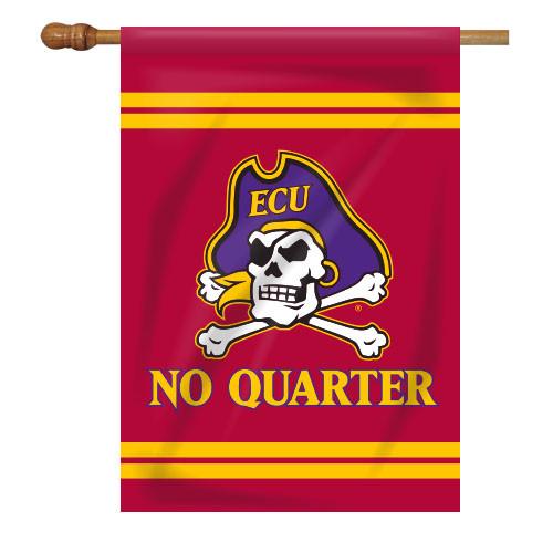 East Carolina House Flag - No Quarter