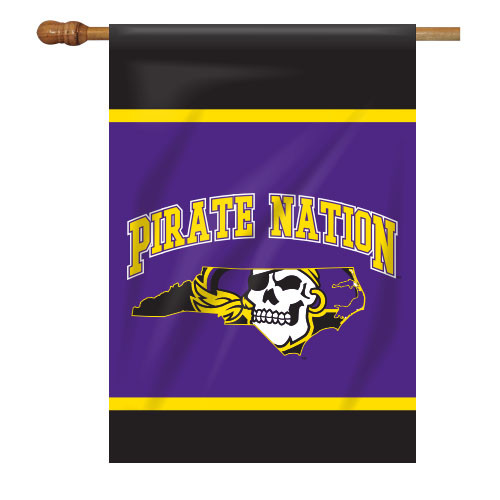 East Carolina House Flag - Pirate Nation