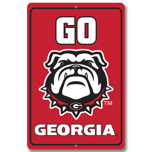 "Georgia 12"" x 18"" Metal Sign"