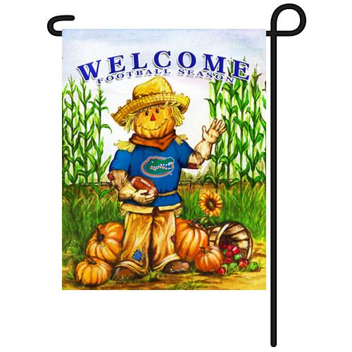 Florida Scarecrow Garden Flag