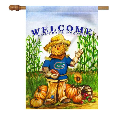 Florida Scarecrow House Flag