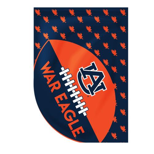 Auburn Sports Cut Garden Flag