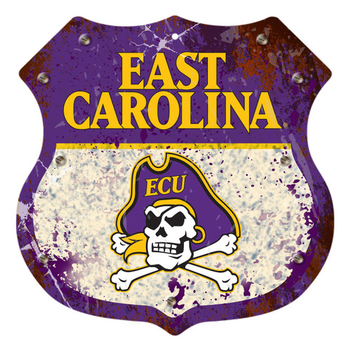 "East Carolina 12"" Road Sign"