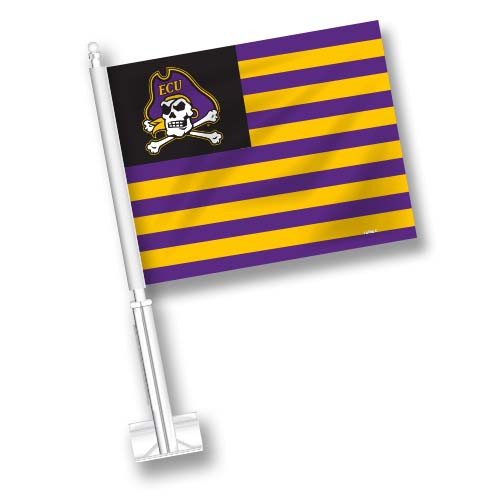 East Carolina Car Flag - American