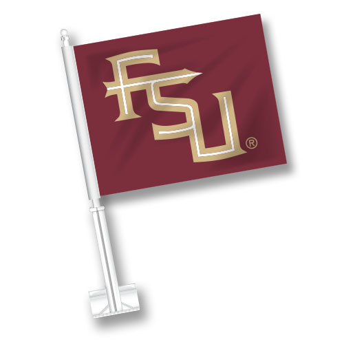 Florida State Car Flag - FSU