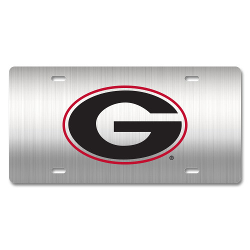 Georgia Metal License Plate
