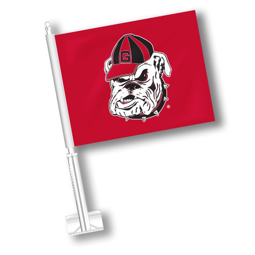 Georgia Car Flag - Old Bulldog