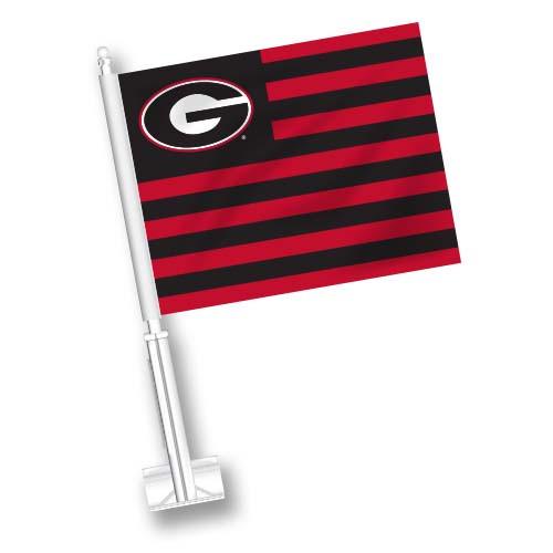 Georgia Car Flag - American