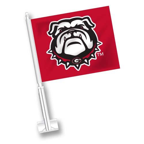 Georgia Car Flag - Bulldog