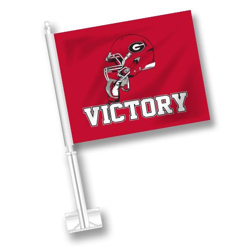 Georgia Car Flag - Victory