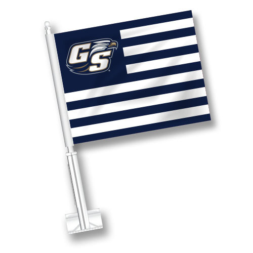 Georgia Southern Car Flag - American