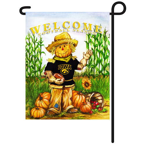 Iowa Scarecrow Garden Flag