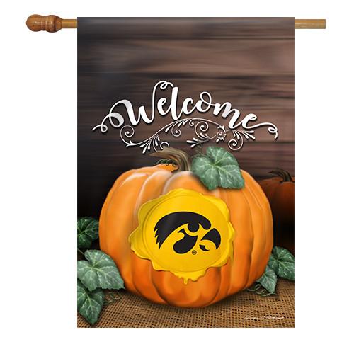 Iowa Pumpkin House Flag