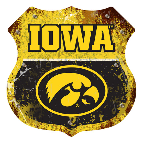 "Iowa 12"" Road Sign"