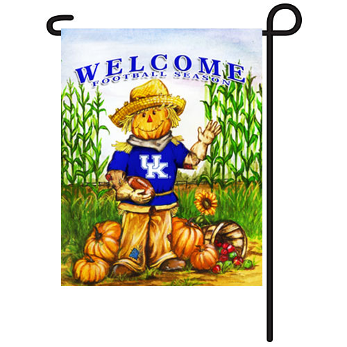 Kentucky Scarecrow Garden Flag