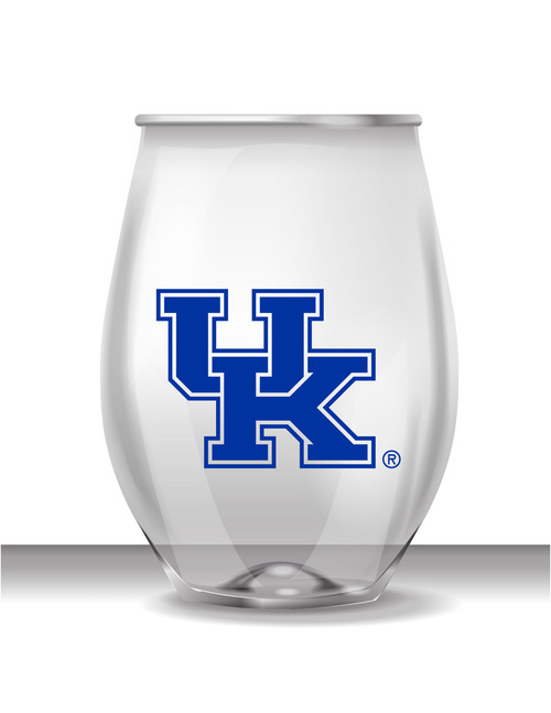 Kentucky 16 oz Stemless Plastic Cup