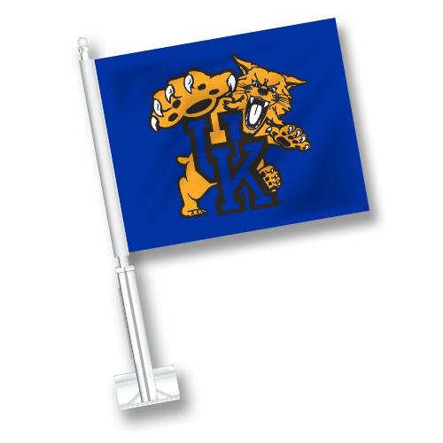 Kentucky Car Flag - Wildcat