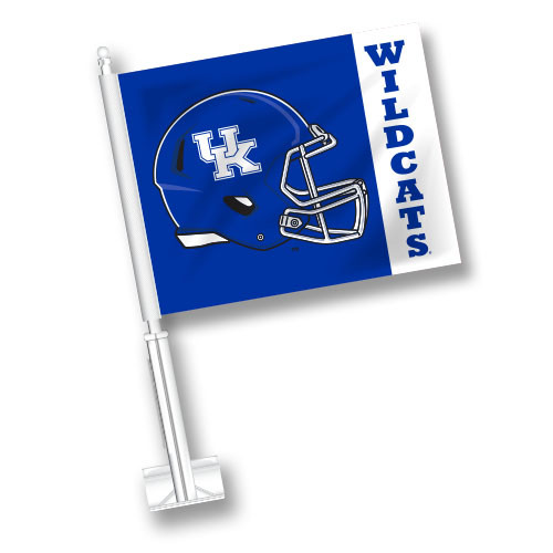 Kentucky Car Flag - Helmet