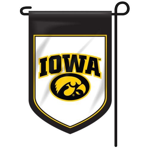 Iowa Shield Garden Flag