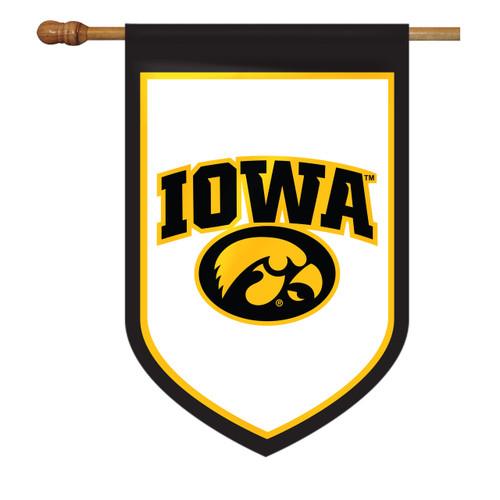 Iowa Shield House Flag