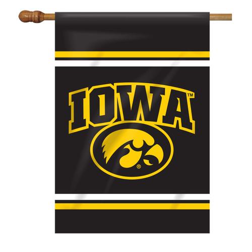 Iowa Rectangle House Flag