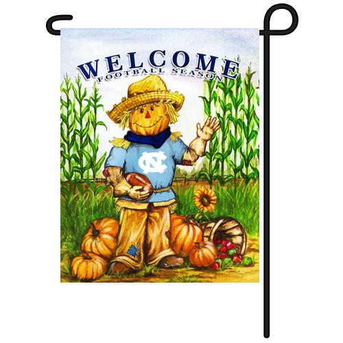 North Carolina Scarecrow Garden Flag