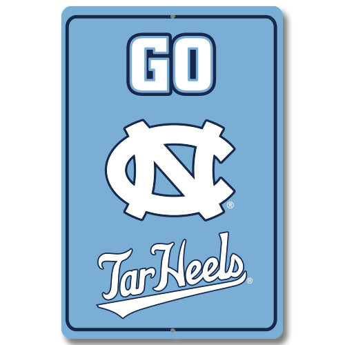 "North Carolina 12"" x 18"" Metal Sign"