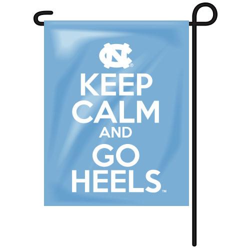 North Carolina Rectangle Garden Flag - Keep Calm
