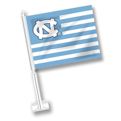 North Carolina Car Flag - American