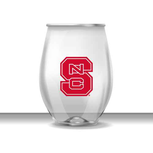 North Carolina State 16 oz Stemless Plastic Cup