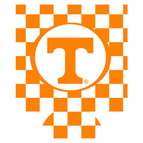 Tennessee Can Hugger - Checkerboard