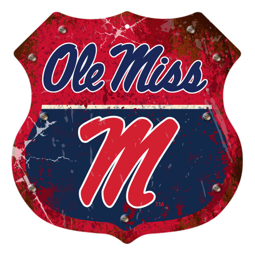 "Ole Miss 12"" Road Sign"