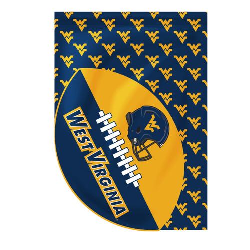 West Virginia Sports Cut House Flag