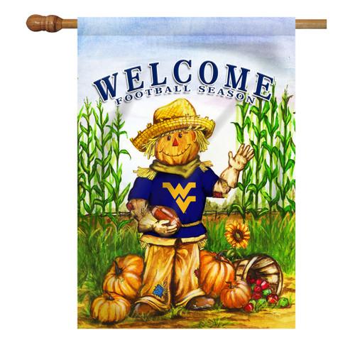 West Virginia Scarecrow House Flag