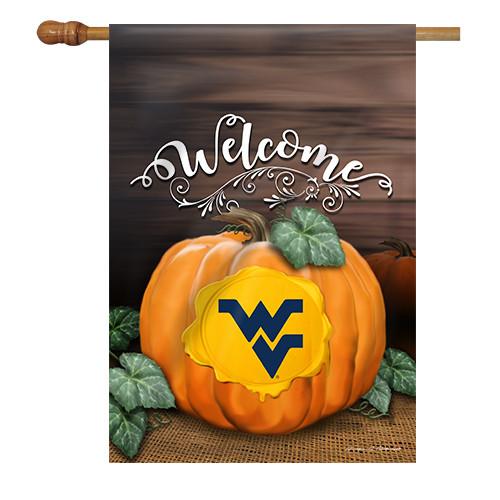 West Virginia Pumpkin House Flag
