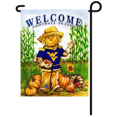 West Virginia Scarecrow Garden Flag