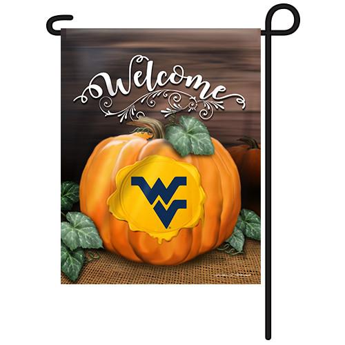 West Virginia Pumpkin Garden Flag