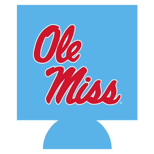 Ole Miss Can Hugger - Columbia Blue
