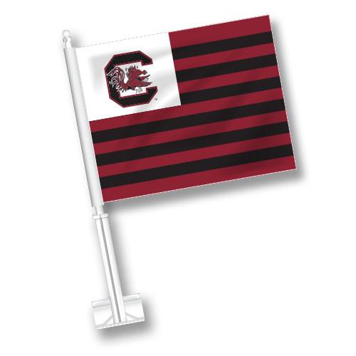 South Carolina Car Flag - American