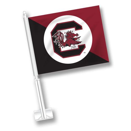 South Carolina Car Flag - Split