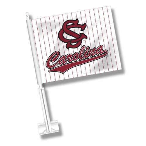 South Carolina Car Flag - Baseball