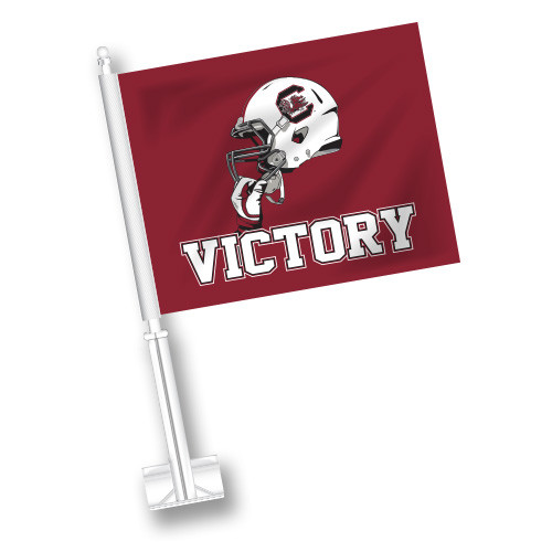 South Carolina Car Flag - Victory
