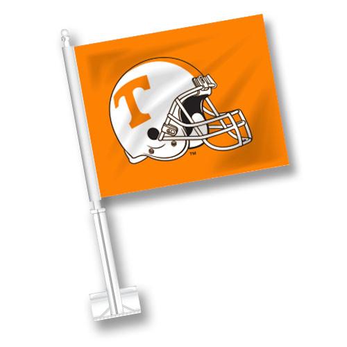 Tennessee Car Flag - Helmet