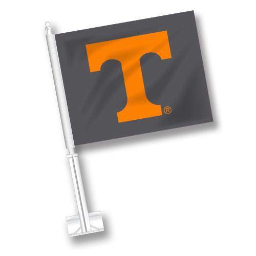 Tennessee Car Flag - Gray