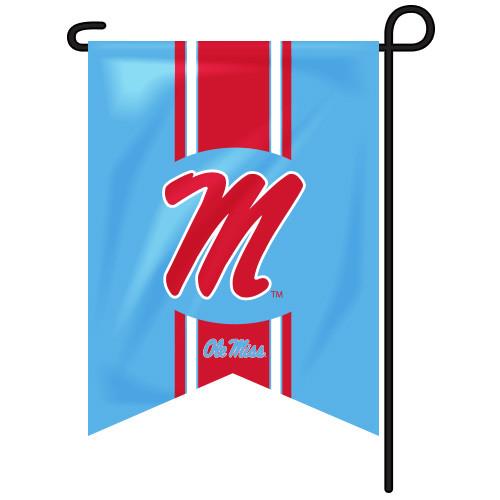 Ole Miss Vintage Garden Flag