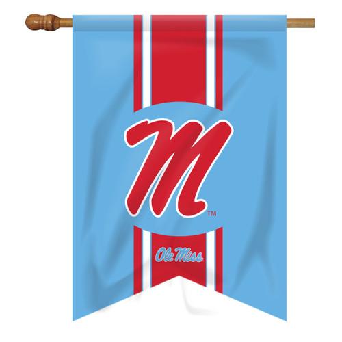 Ole Miss Vintage House Flag