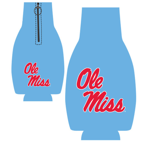 Ole Miss Bottle Hugger - Columbia Blue