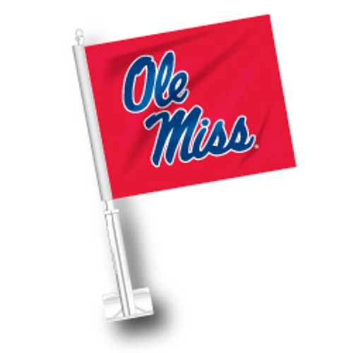 Ole Miss Car Flag