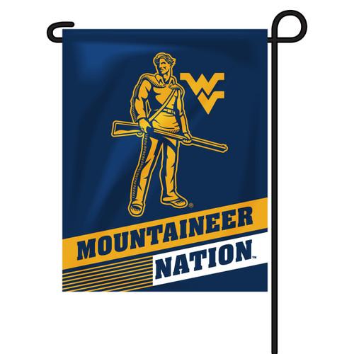 West Virginia Rectangle Garden Flag - Mountaineer Nation