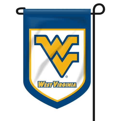 West Virginia Shield Garden Flag